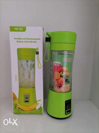 YE-02 Portable and Rechargeable battery Juice Blender