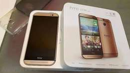 Brand New golden and mettalic htc one m8