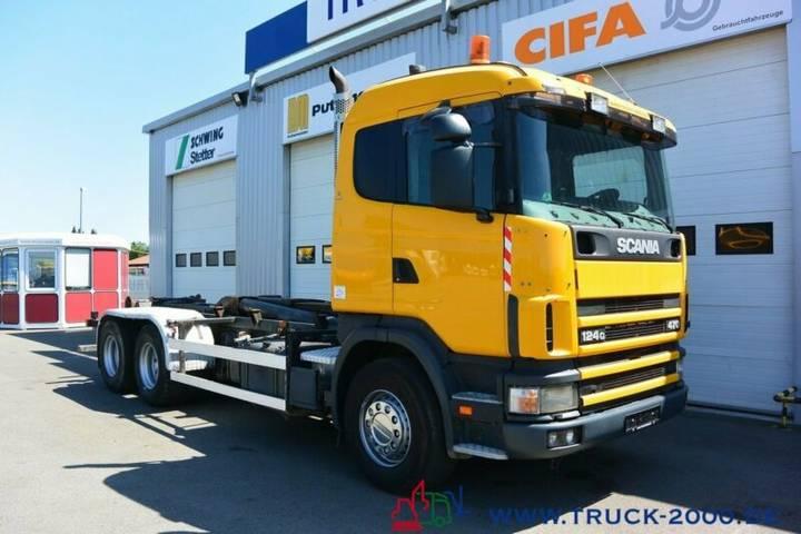 Scania 124G470 6x4 Multilift Knick- Schub Haken 25 to. - 2002