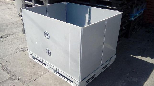 W superbly Skrzyniopaleta skrzynia magazynowa PCV, kontener, plastik Rzeszów YX04