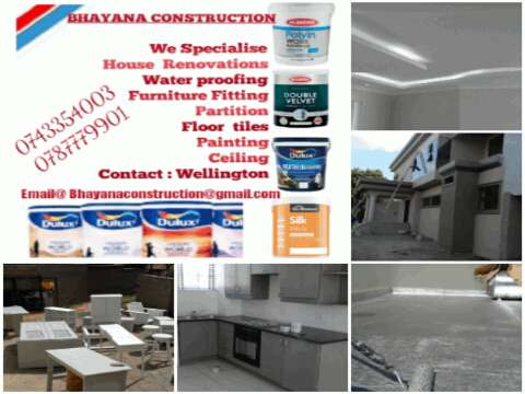 Construction and maintenance. Affordable prize Berea - image 1