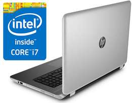 New Hp 15 core i7 with 8gb ram / 1 terabyte