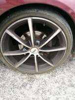 "17""tsw magsand 3 tyres to swop for 15"" or sell"