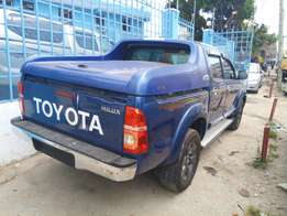 Toyota hilux double cab.