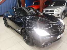 2006 Mercedes-Benz SLK 55 AMG AUTOMATIC (black)