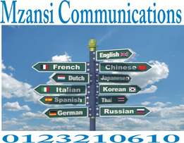 Services offers at Mzansi