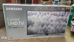 55 inch curved UHD Tv