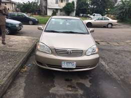 2007 Toyota Corolla (Nigeria used and ready to go )