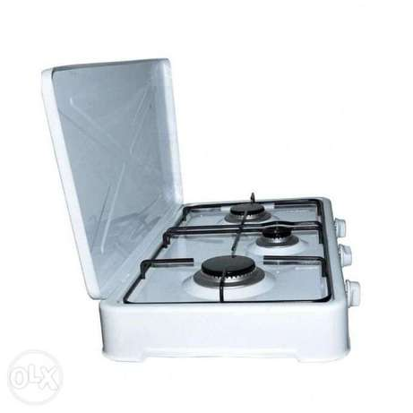 Conic 3 Burner Gas Cooker Top - White Westlands - image 3