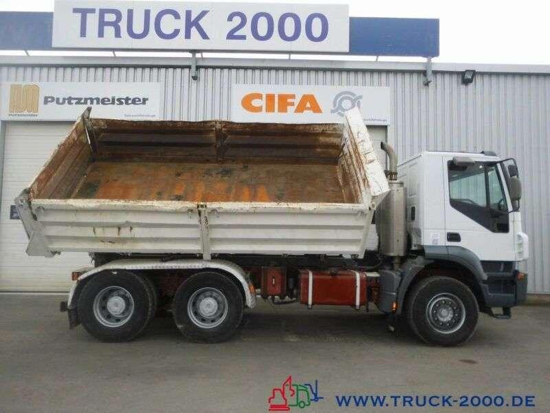 Iveco AD260 6x4 Meiller DeutscherLKW 1.Hd Klima 110TKM - 2009 - image 6