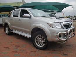 Toyota Hilux 3.0D4-D D/CAB in good condition with full service.