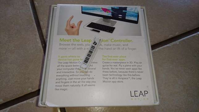 NEW ! Leap Motion 3D VR and PC control device !! Klerksdorp - image 6