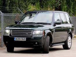 Land-rover range rover vogue V8 diesel new model finance terms accepte