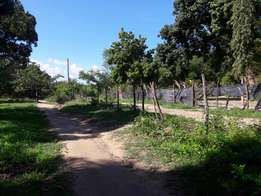 Plots on sale Mtwapa