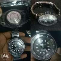 Original black rolex watch