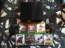 Xbox One with 7 games for PS4