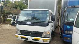 Clean Mistubishi Fuso Canter White colour 2010 Buy on hire purchase