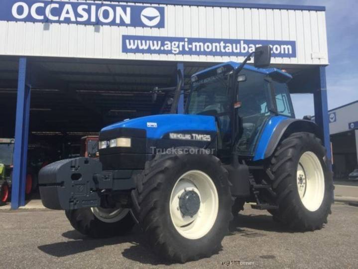 New Holland tm 125 - 2001