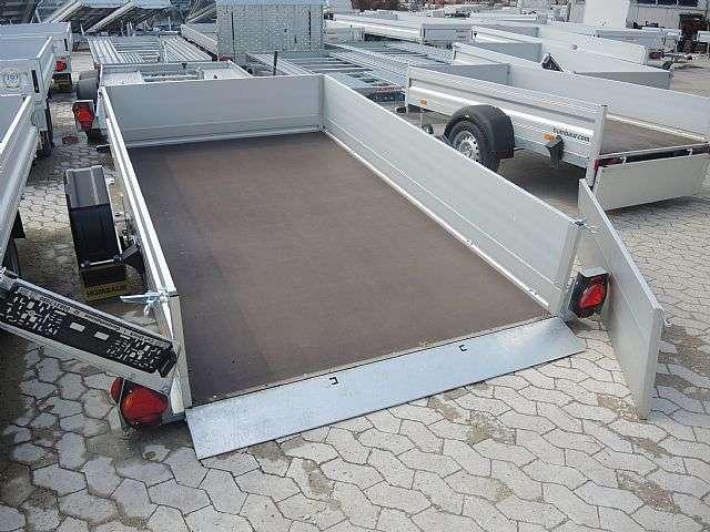 Humbaur Hkt752515s Absenkanhänger Mit Bordwandaufsatz