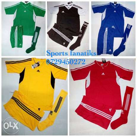 adidas football uniforms (jersey+shorts+socks) Nairobi CBD - image 1