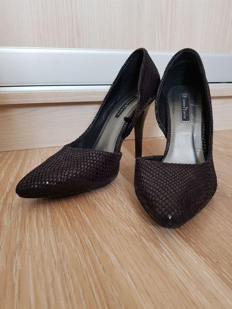 ebadc19f Szpilki czarne czółenka 38, Lasocki, Ccc, Jenny Fairy Zara, H&M, Ryłko
