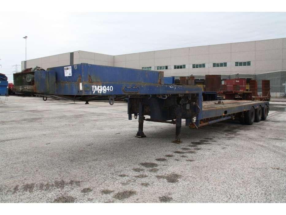 Nooteboom OSD47VVS semi stepfr trailer - 1982