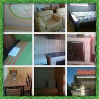 2 bedroom own compound and fully furnished aprtmnts. At ksh 3000pd