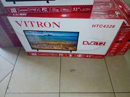 Brand-new HTC Vitron 43 inch smart Tv on sable