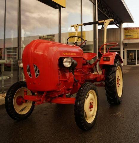 Porsche Junior 108, Traktor, 20mk/h, Diesel, Oldtimer - 1960