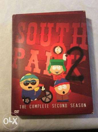 south park complete second season 3 dvds original