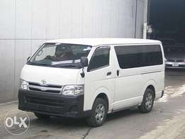 Toyota hiace 7L Matatu box auto petrol engine fully loaded finance