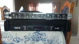 Hybrd B1600 and a crossover
