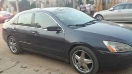 Registered Honda Accord, 2004 model .