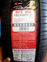 CRAZY TYRE SALE! 195/45/15 New tyres only R830 each!