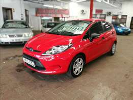 2012 Ford Fiesta 1.4 Ambiente, with 90000km's, Service History, P/S
