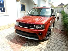 2008 Range rover sport upgraded to 2012 autobiography