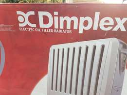 Electronic oil filled radiator heater . new