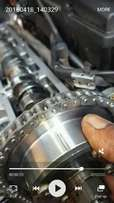 Mercedes Benz w203 Fixing of engine