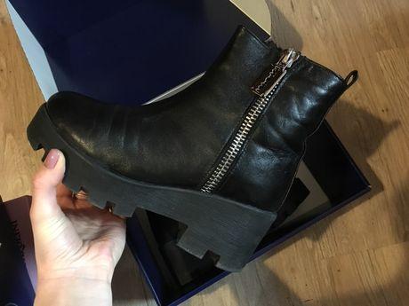 b7e87fc43 Архив: Кожаные ботинки на тракторной подошве: 1 000 грн. - Женская ...