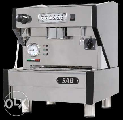 Coffee Machine single group 800 bd - SAB brand, Made in Italy
