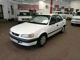 1997 Toyota Corolla 160i GLE,with 252000km, Full Service History