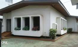 4 bedrooms bungalow with an extra plot for sale at brewery, Alaka