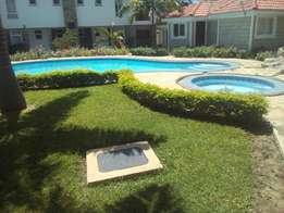 A 3 bed room luxurious furnished beach villa in nyali
