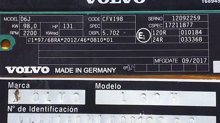 Volvo L 60 H - 2017 - image 6