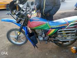 Motorbike in very good condition