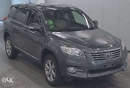 Toyota vanguard metallic grey fully loaded.