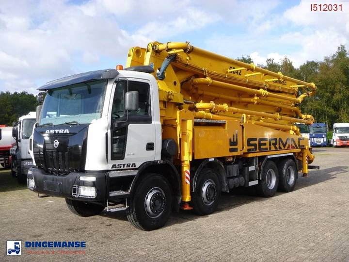 Iveco Astra HD 84 45 8x4 Sermac 5Z41 pump - 2005