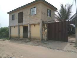 2bedroom bungalow for sale at oyigbo by mirinwayi before afam port har