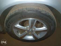 Tyre and rims for sale.