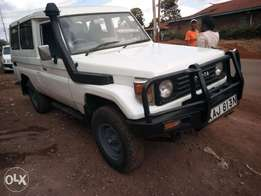 Toyota land cluiser kaj local manual diesel asking 1.7m